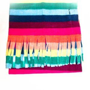 🌷Old Navy I Women Rainbow Fleece Scarf